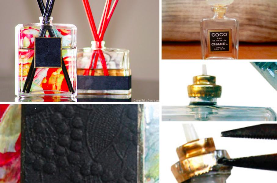 faites votre propre diffuseur avec un ancien flacon de parfum ou autre des id es. Black Bedroom Furniture Sets. Home Design Ideas
