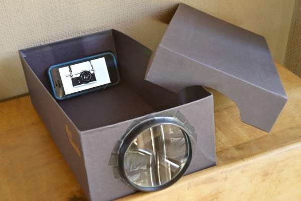 17 id es pour recycler les bo tes chaussures des id es for How to make mobile projector