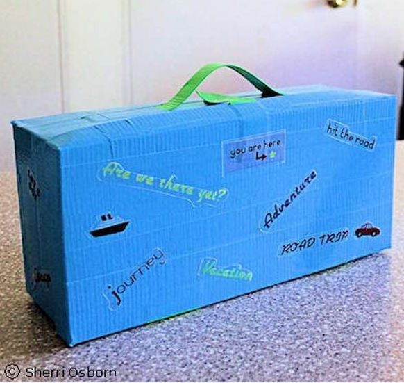 17 craft ideas to recycle shoe boxes creatistic - Boite chaussure transparente ...