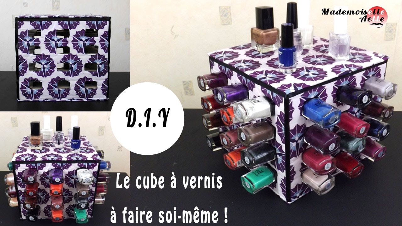diy le cube vernis fabriquer soi m me. Black Bedroom Furniture Sets. Home Design Ideas