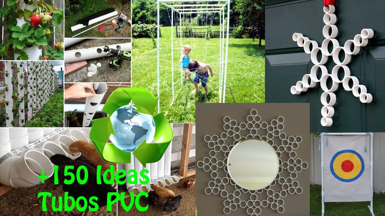 150 id es pour rendre utiles vos tubes de pvc. Black Bedroom Furniture Sets. Home Design Ideas