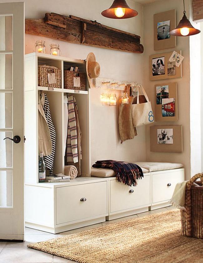 17 idées pour faire de hall d\'entrée un espace accueillant