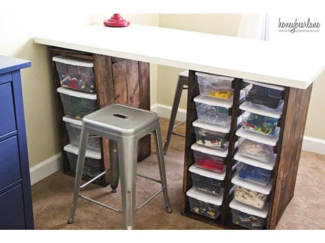 Practical ideas for storing legos creatistic
