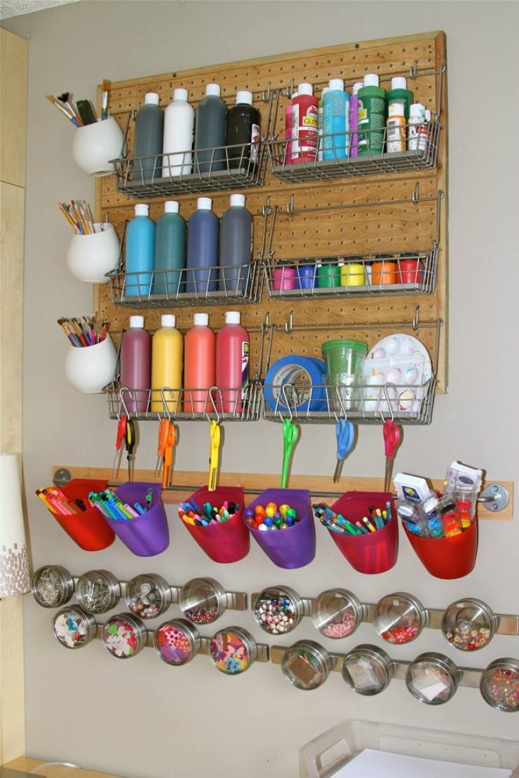 15 storage ideas for your kids arts and crafts creatistic