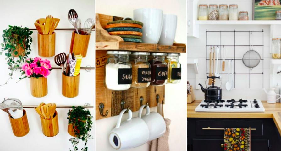 15 ides de rangements muraux pour la cuisine bricoler soi mme