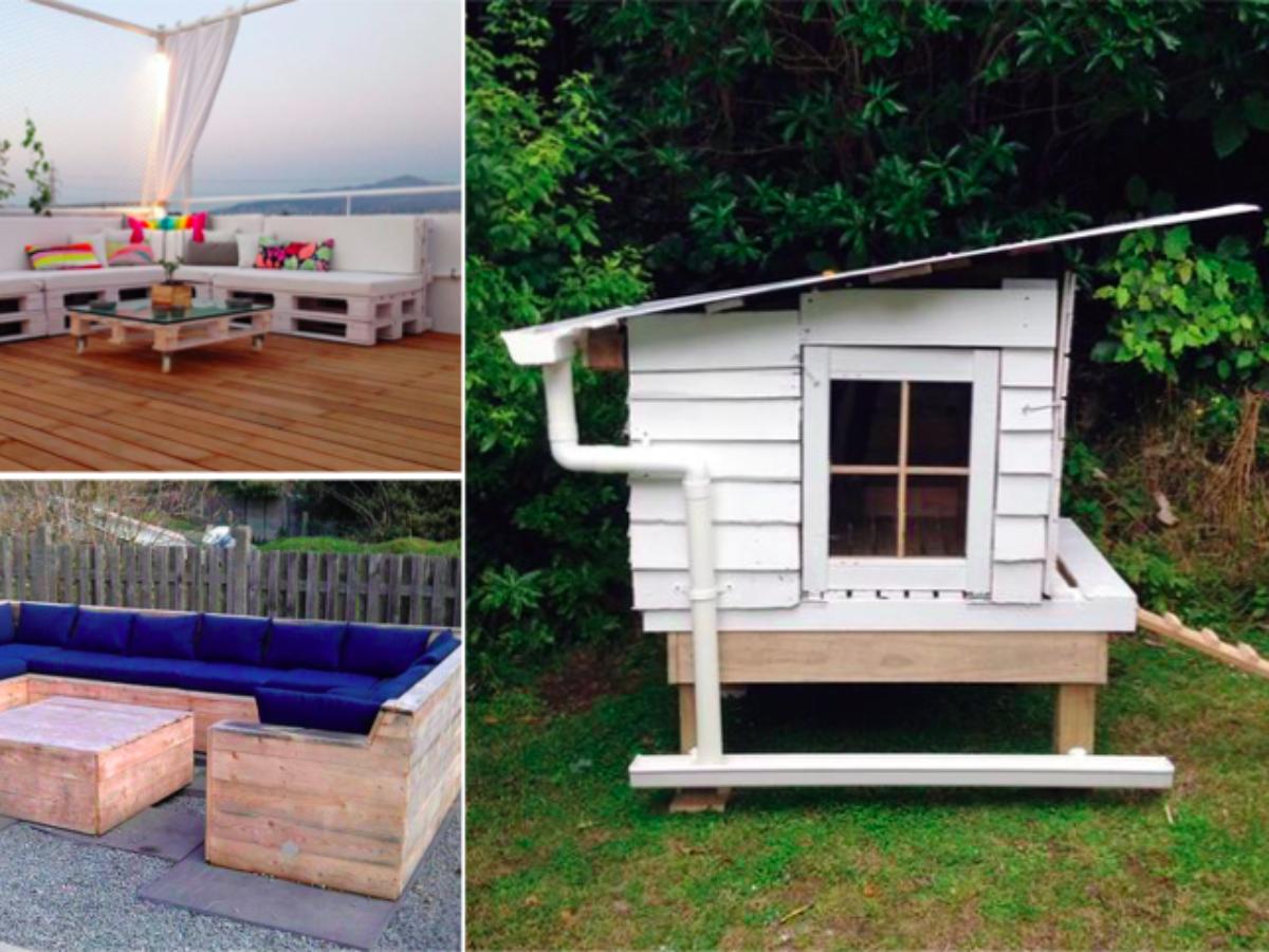 Idee Deco Palette Jardin 105 idées de meubles en palette pour votre jardin