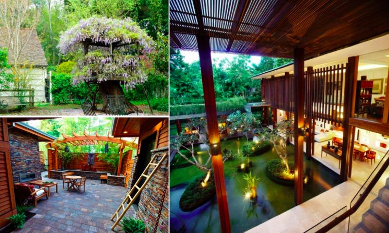 41 id es pour transformer votre ext rieur en jardin zen des id es. Black Bedroom Furniture Sets. Home Design Ideas