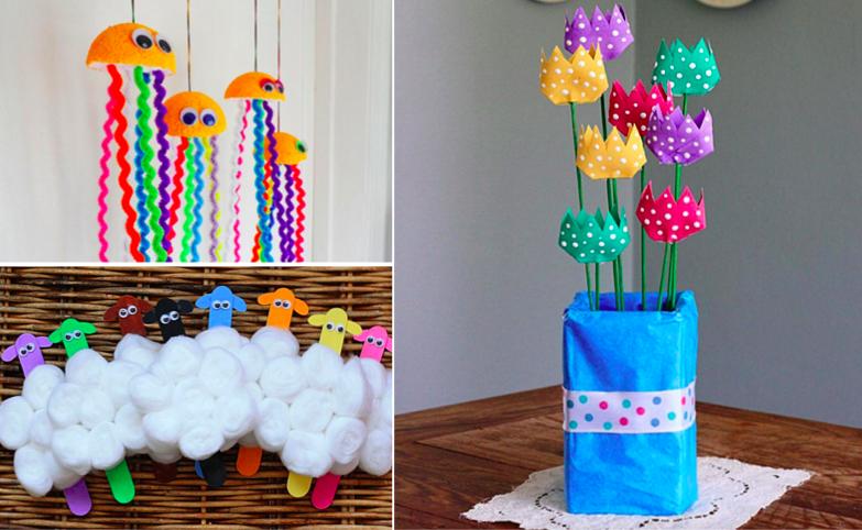 Pour vos enfants voici 18 id es de bricolages sur le th me du printemps des id es Bricolage printemps objets naturels idees