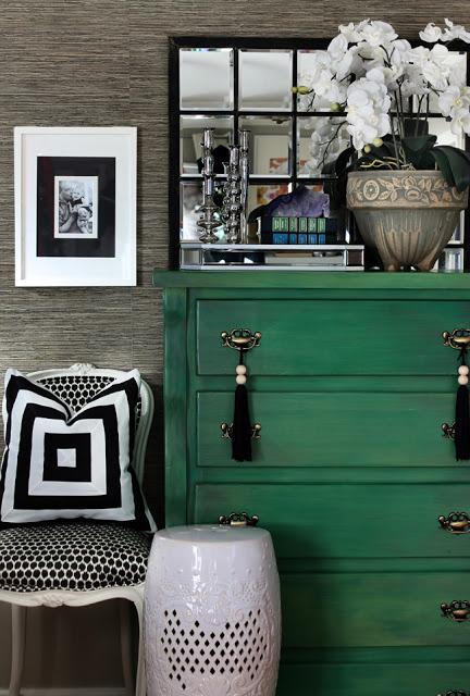 Reduced - Hunted Interior - Green Dresser - 2012-2