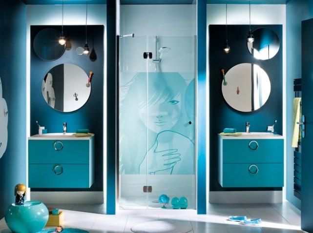 18 id es de d coration de salles de bains avec une ambiance zen. Black Bedroom Furniture Sets. Home Design Ideas