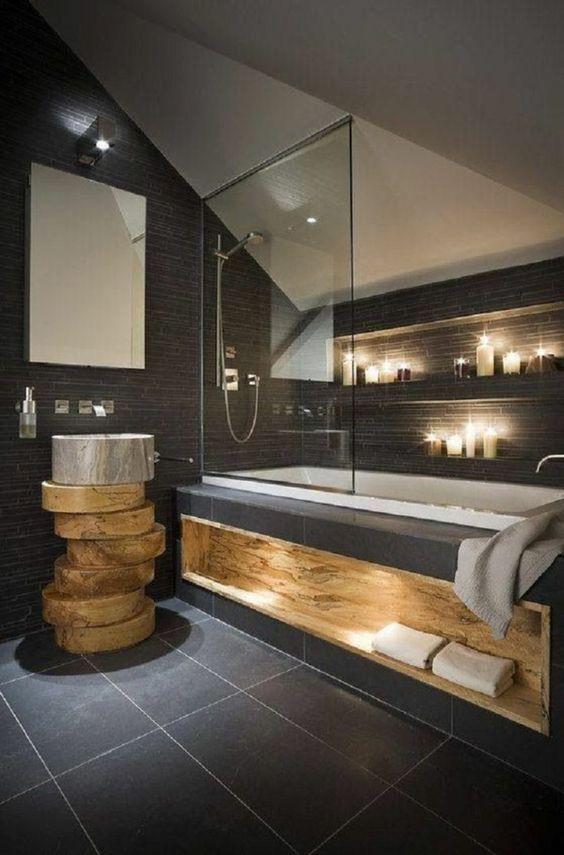 18 Idées De Décoration De Salles De Bains Avec Une Ambiance Zen