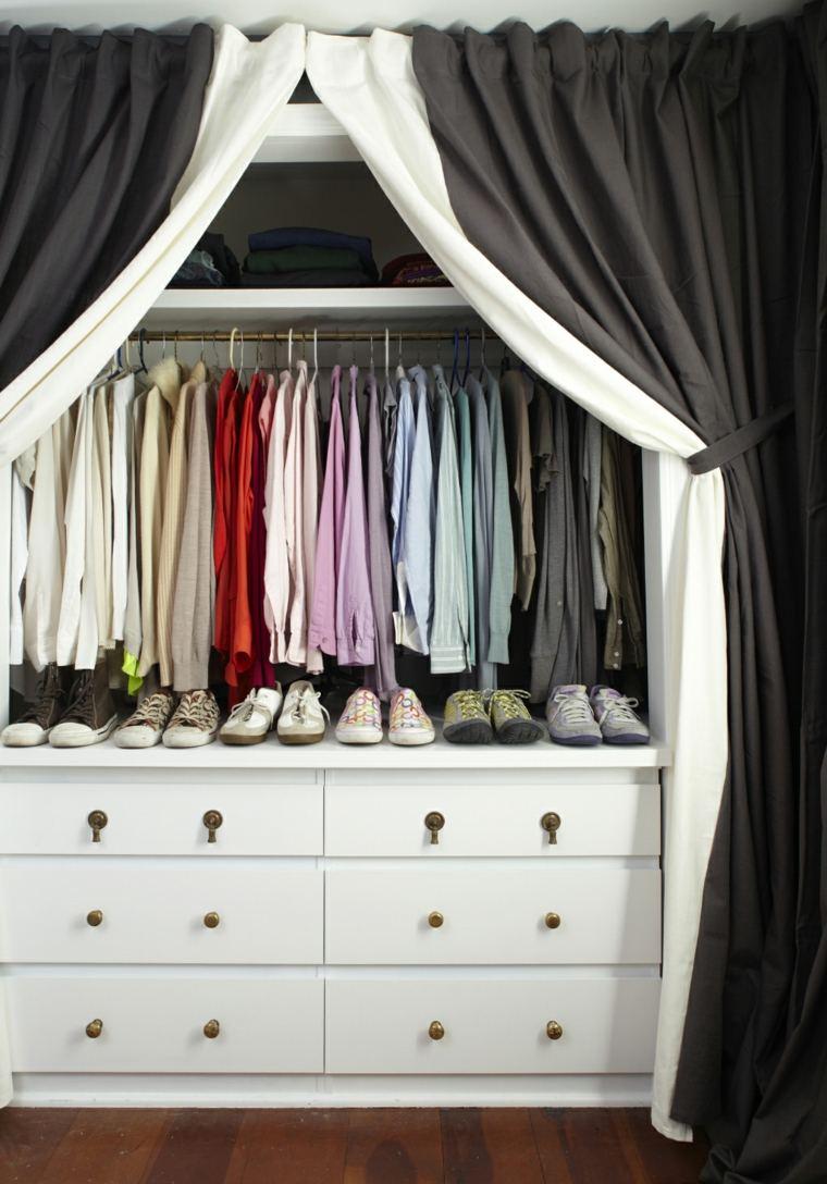 Rideau dressing my blog - Dressing avec rideau ...