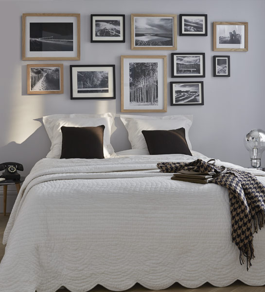 deco mur avec cadre photo. Black Bedroom Furniture Sets. Home Design Ideas