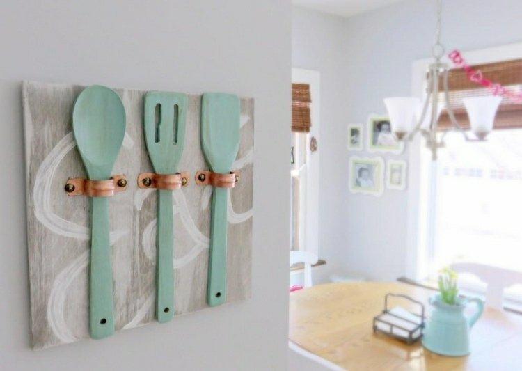 15 id es de rangements muraux pour la cuisine bricoler soi m me des id es. Black Bedroom Furniture Sets. Home Design Ideas