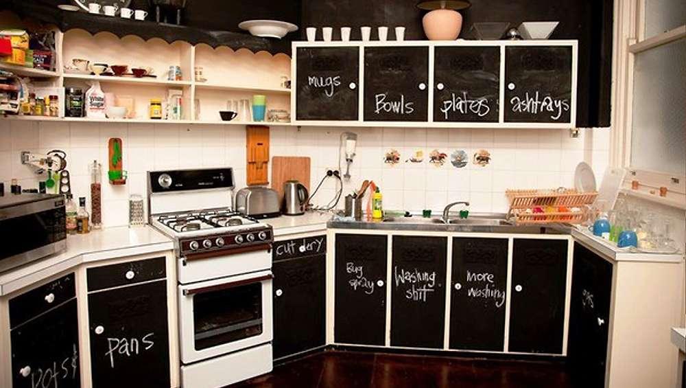 10 idées sublimes pour intégrer l'ardoise dans votre cuisine ...