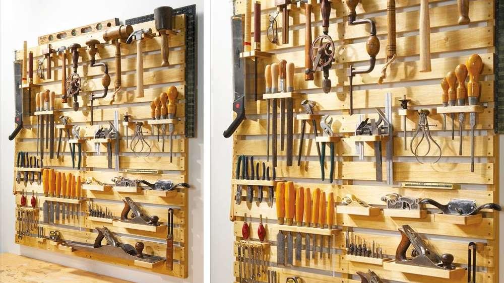 23 id es adopter pour ranger vos outils de bricolage. Black Bedroom Furniture Sets. Home Design Ideas