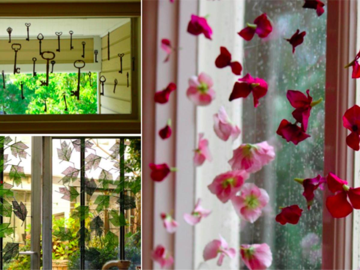 Déco Printemps À Faire Soi Même 10 idées très sympathiques de décoration pour la fenêtre à