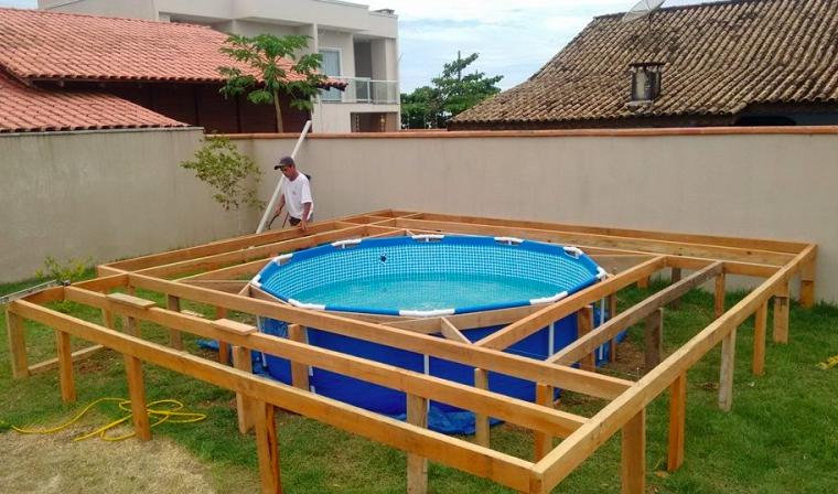 Il n 39 avait pas de quoi s 39 offrir une belle piscine mais sa for Quand hiverner sa piscine