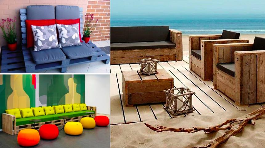 canap avec des palettes ides comment fabriquer un lit avec des palettes faire un canap avec un. Black Bedroom Furniture Sets. Home Design Ideas