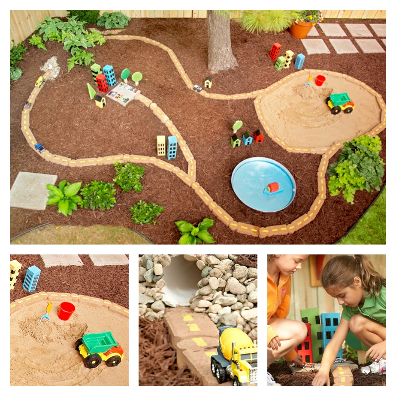 7 ideas for racing circuits in your garden - Creatistic