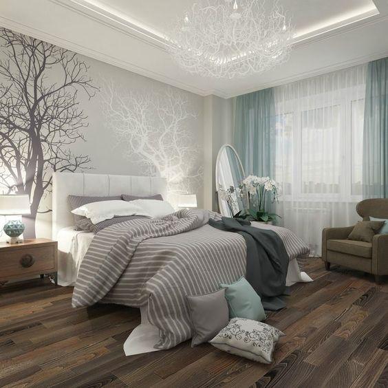 idées uniques pour un design de chambre à coucher moderne et nature