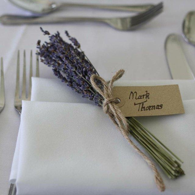 Plus de 100 id es tendances de d coration de mariage 2016 - Marque place mariage champetre ...