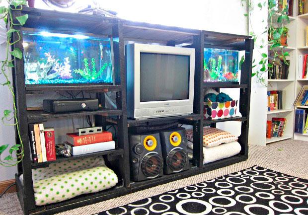 30 utilisations g niales des palettes pour am liorer votre maison page 4 sur 4 des id es. Black Bedroom Furniture Sets. Home Design Ideas