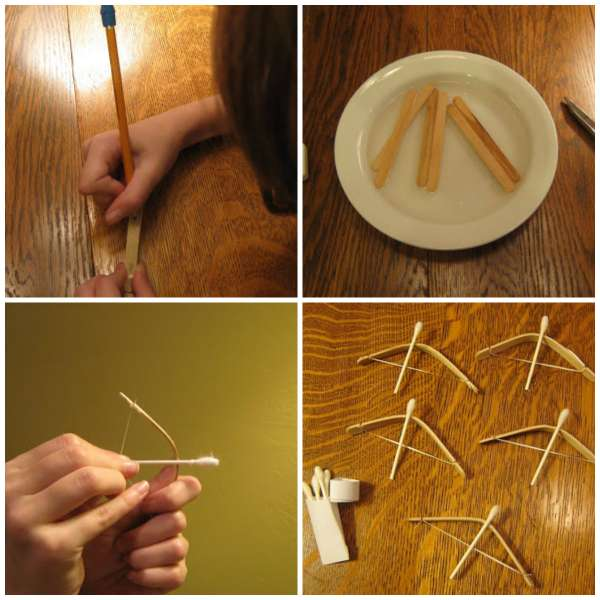 how to make cotton buds