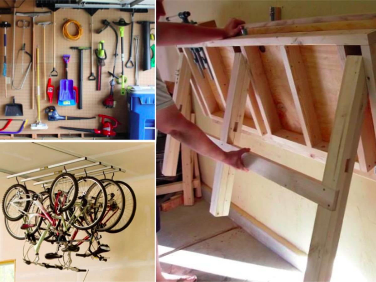 Fabriquer Des Rangements En Bois 25 superbes idées de rangements pour votre garage !