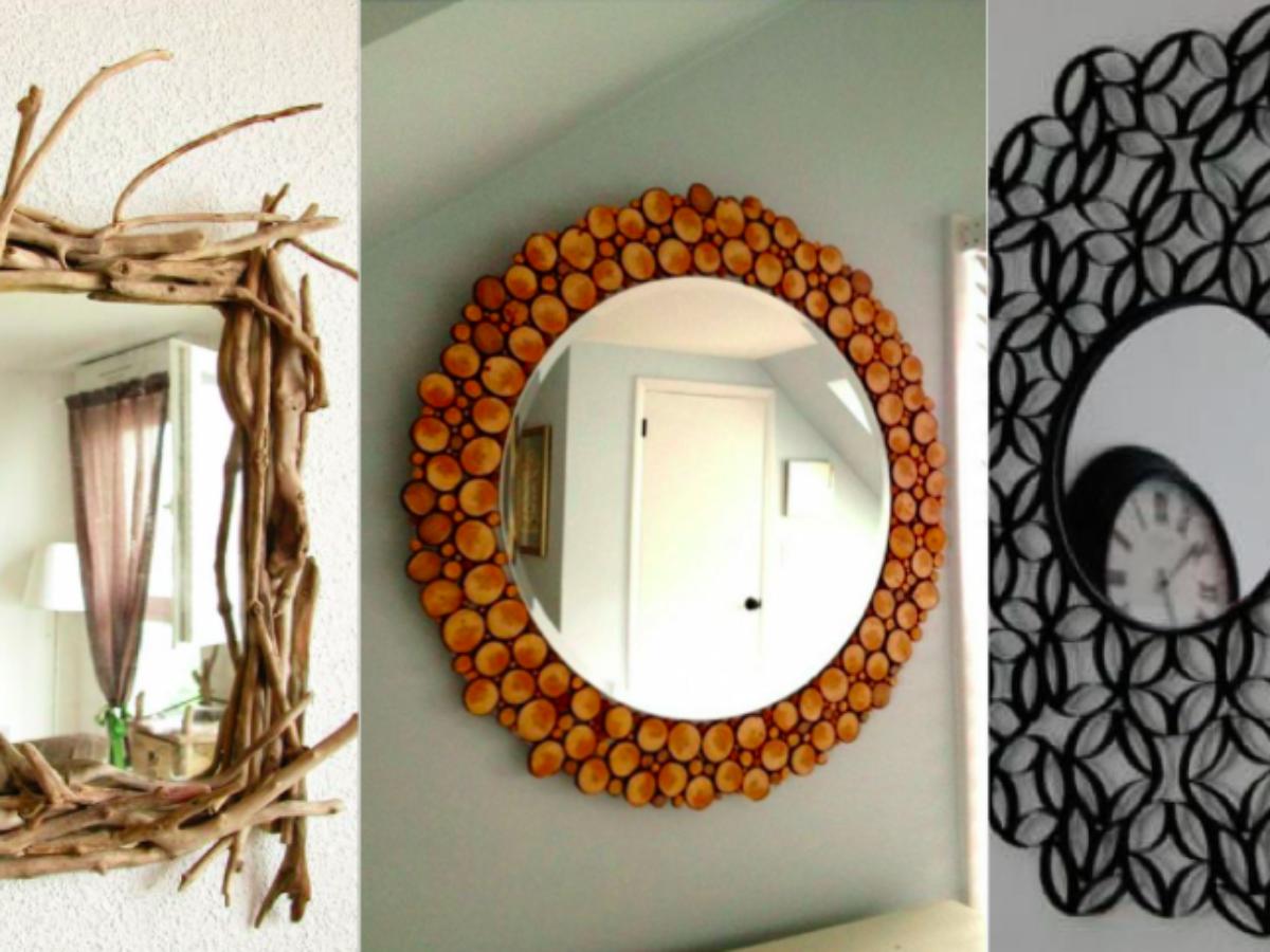 Customiser Un Cadre De Miroir 10 idées originales pour personnaliser vos miroirs