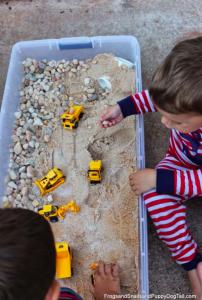 12 bacs à sable à faire soi-même - Des idées