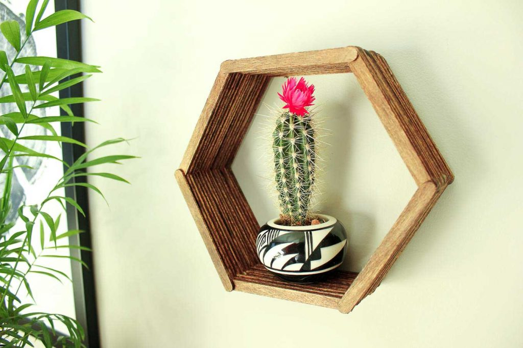 DIY-Hexagon-Shelf-Popsicle-Sticks-3