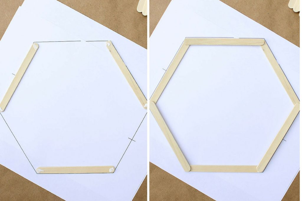 DIY-Hexagon-Shelf-Popsicle-Sticks-5