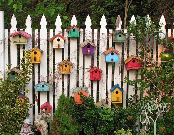 20 id es pour sublimer votre cl ture de jardin. Black Bedroom Furniture Sets. Home Design Ideas