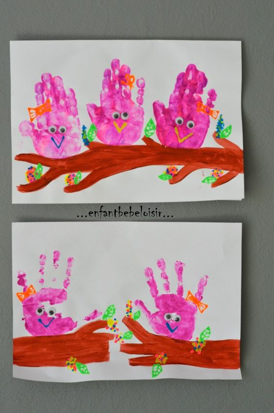 20 Idees De Peintures Avec Les Mains Et Les Pieds Pour Vos Enfants