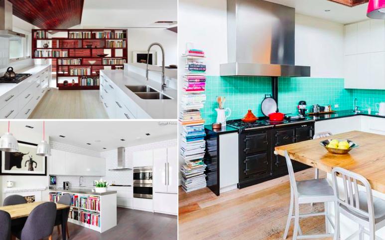 11 solutions sympas pour ranger les livres de recettes qui encombrent la cuisine des id es. Black Bedroom Furniture Sets. Home Design Ideas