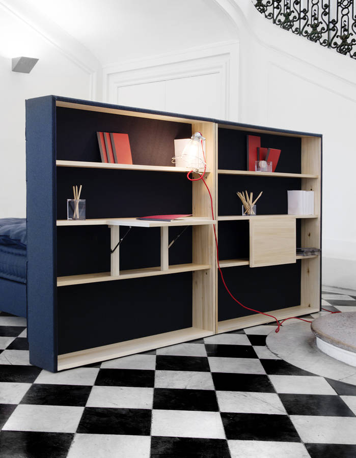 50 excellentes id es de rangements pour la maison page 6 sur 7 des id es. Black Bedroom Furniture Sets. Home Design Ideas