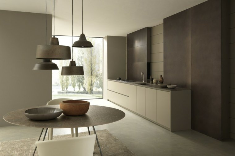 25 id es de cuisines ouvertes au design italien des id es. Black Bedroom Furniture Sets. Home Design Ideas