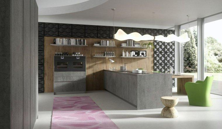 cuisine-ilot-design-idee-amenager