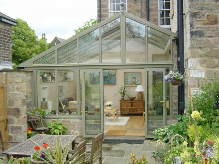 veranda-moderne-avec-jardin