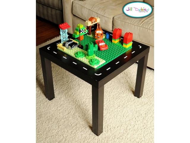 20 id es pour transformer sa petite table basse page 3 sur 3 des id es. Black Bedroom Furniture Sets. Home Design Ideas