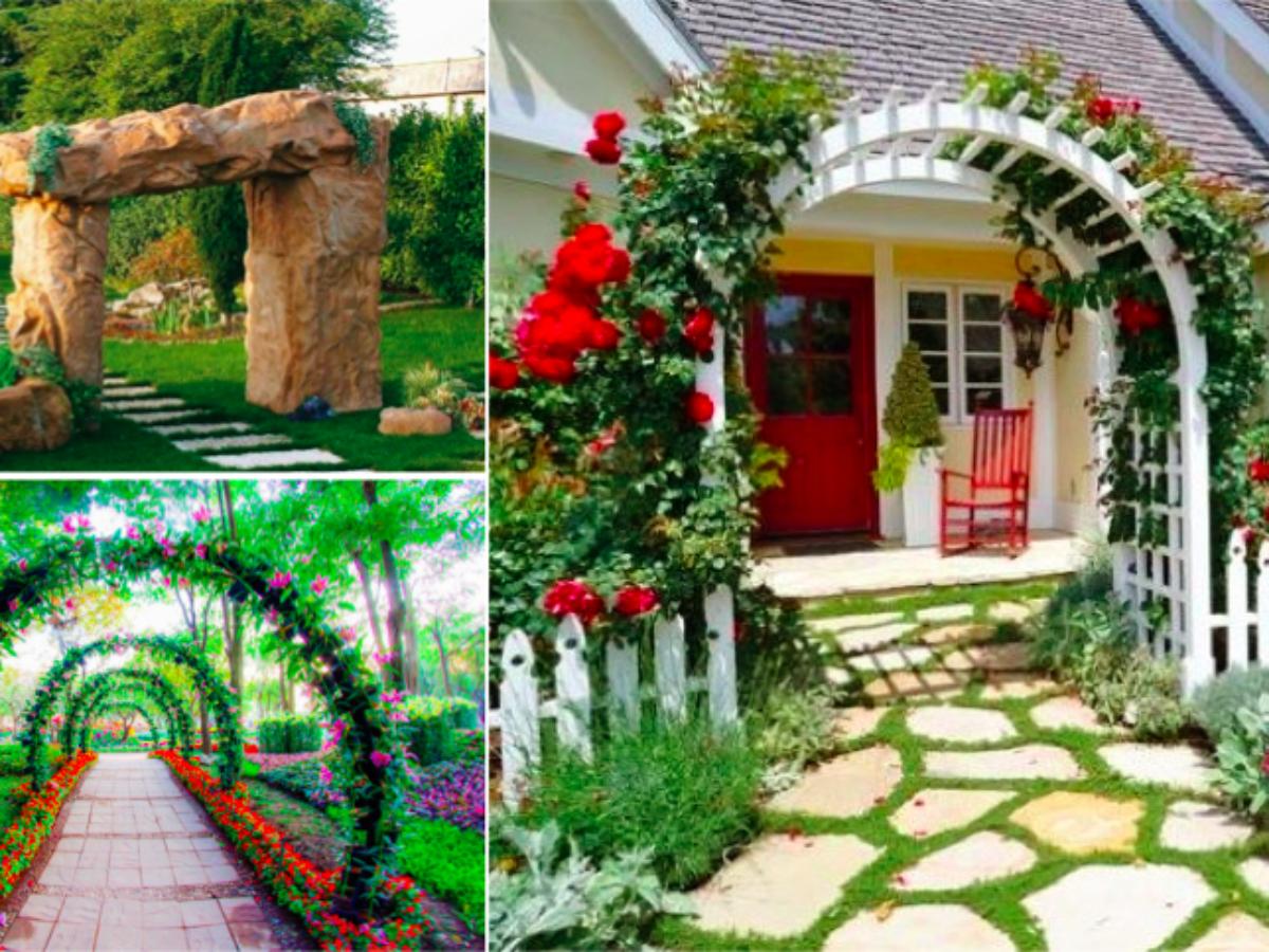 Idee Deco Petit Jardin 23 idées sublimes d'arches pour décorer son jardin