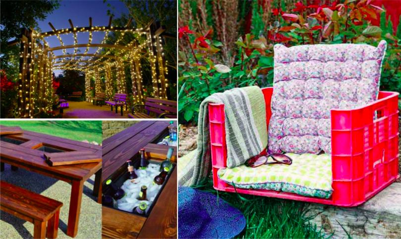 19 ides pour faire soi mme des dcorations de jardin
