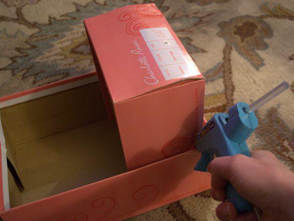 avec 2 boites chaussures et quelques couches r alisez un magnifique jouet pour vos enfants. Black Bedroom Furniture Sets. Home Design Ideas