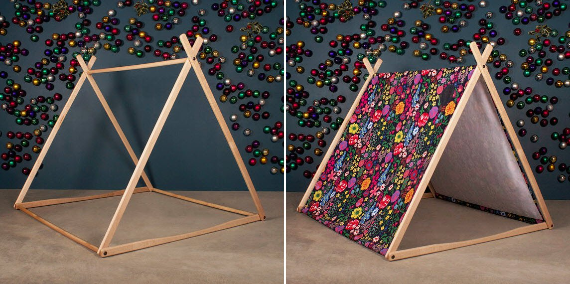 retombez en enfance avec ces 20 id es de cabane r aliser chez soi des id es. Black Bedroom Furniture Sets. Home Design Ideas