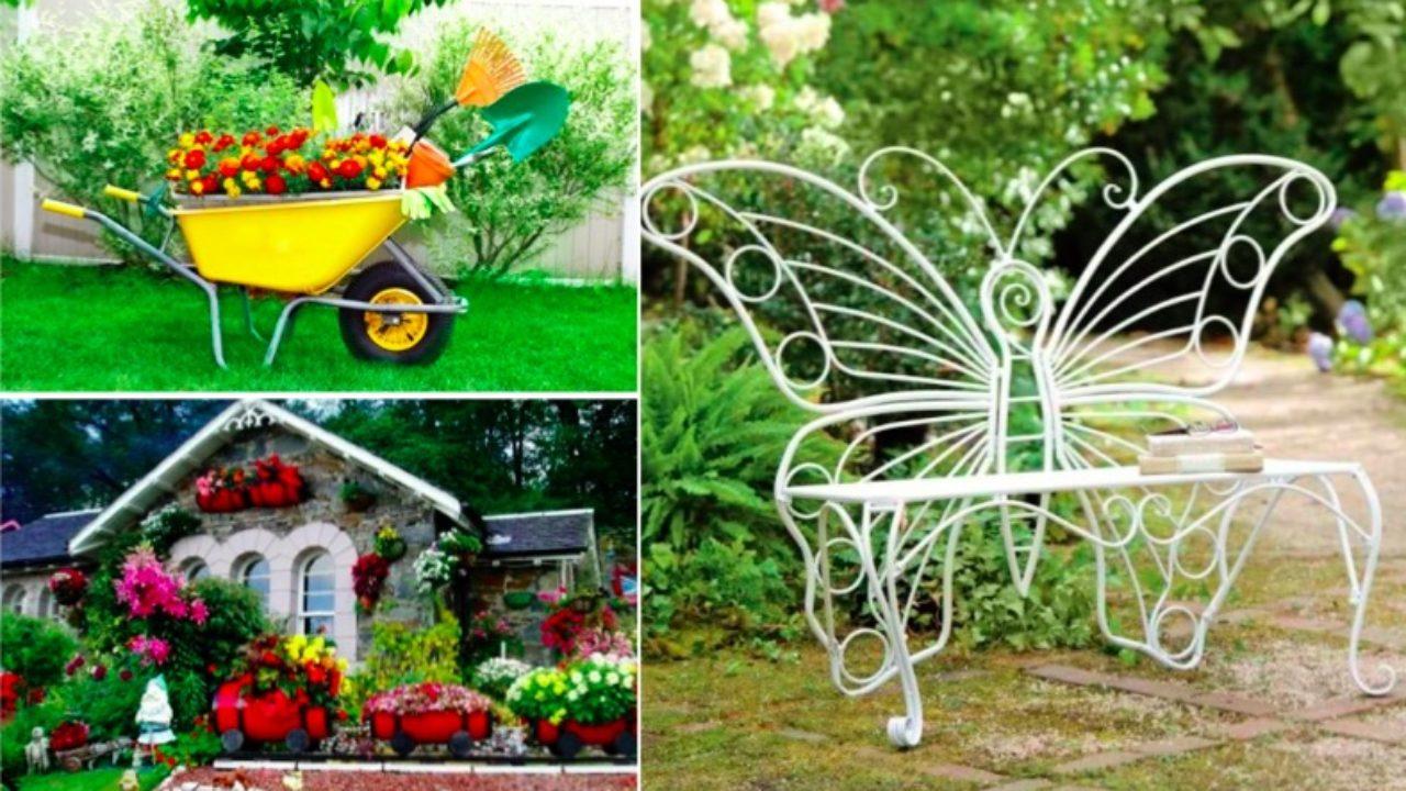 22 Idées Récup Pour Réaliser Le Plus Beau Des Jardins