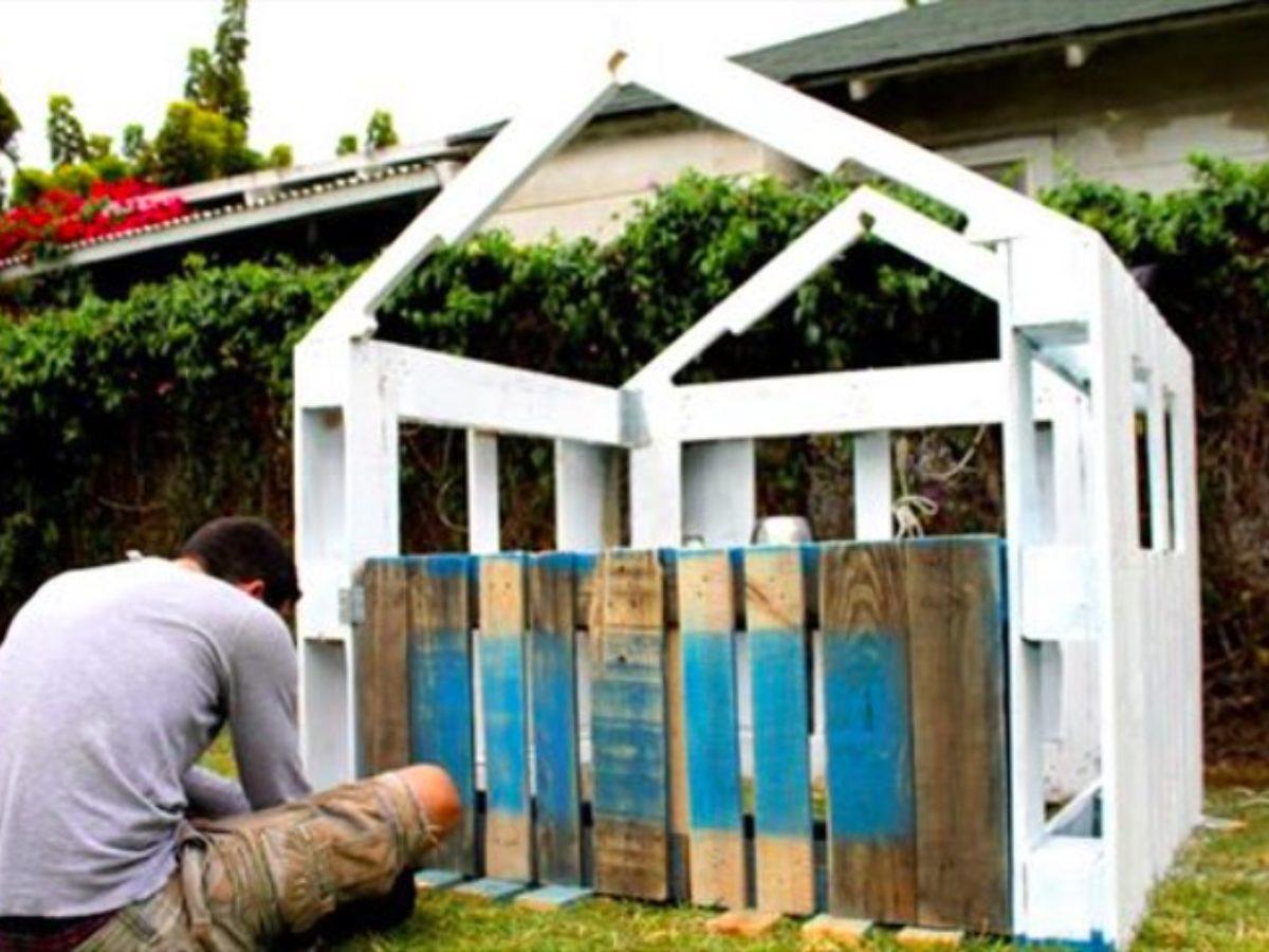 Construire Soi Meme Une Cabane En Bois comment fabriquer soi-même une cabane à partir de palettes