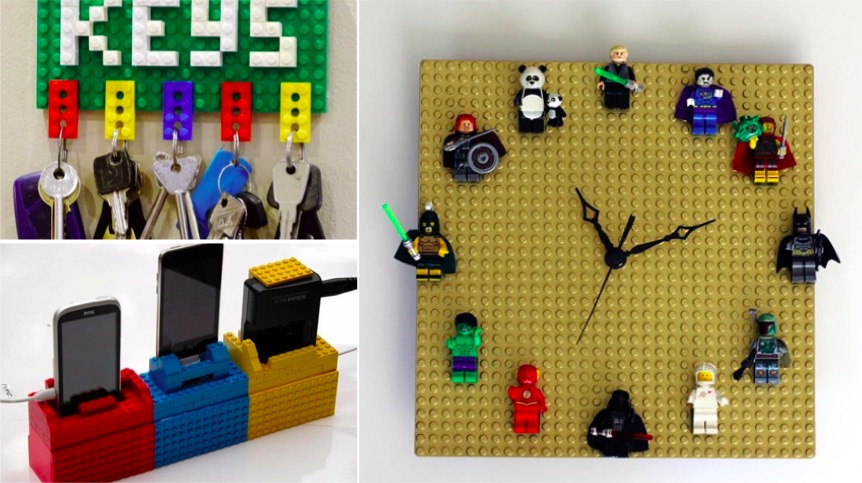 31 id es ing nieuses pour recycler des lego des id es. Black Bedroom Furniture Sets. Home Design Ideas