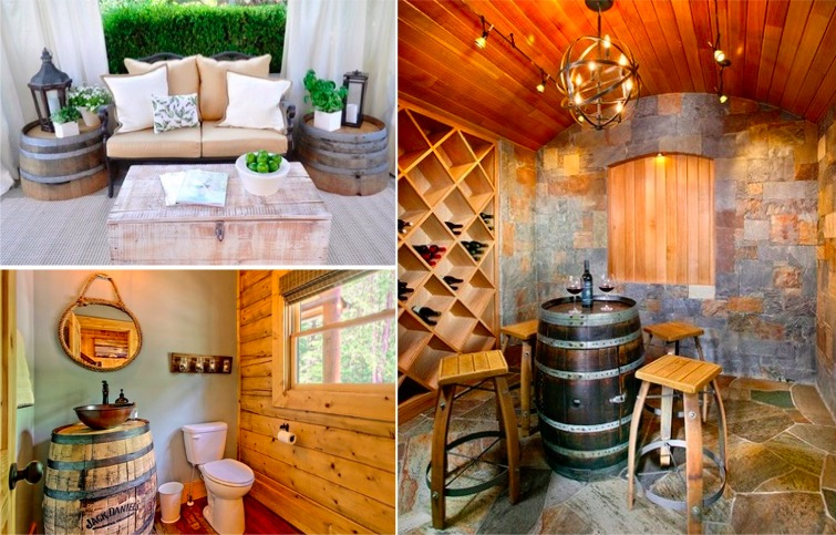 que faire avec un vieux tonneau beautiful blog de page le monde du tonneau que faire avec un. Black Bedroom Furniture Sets. Home Design Ideas