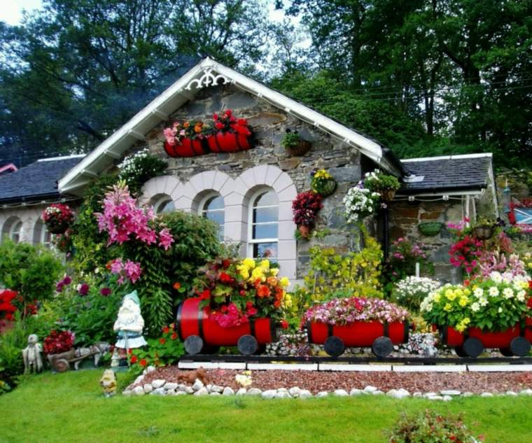 22 recycling ideas to create the prettiest gardens - Page 2 ...
